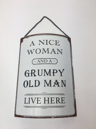 Grumpy Old Man Plaque