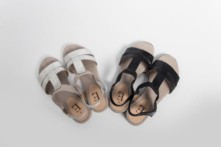 Elasticated Strap Sandal