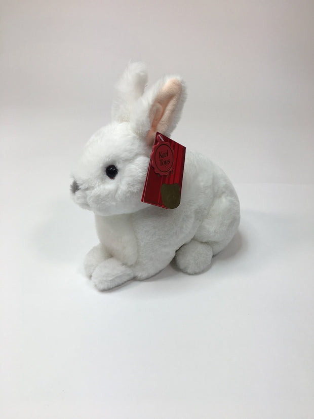 Plush Sitting Rabbit