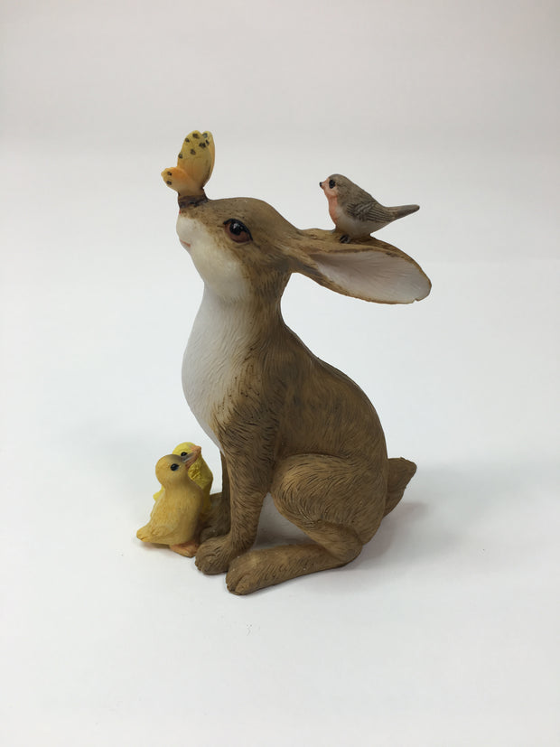 Bunny With Friends Ornament