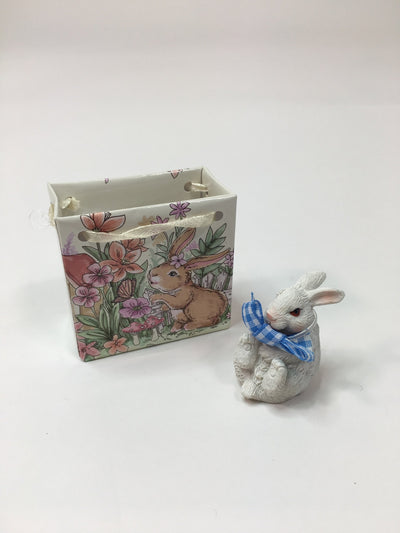 Easter Bunny in Gift Bag