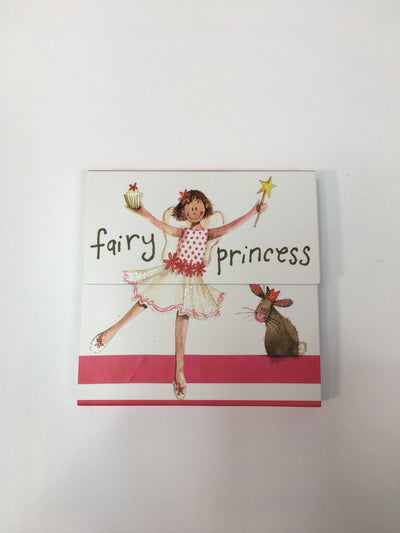 Fairy princess mini magnetic notepad