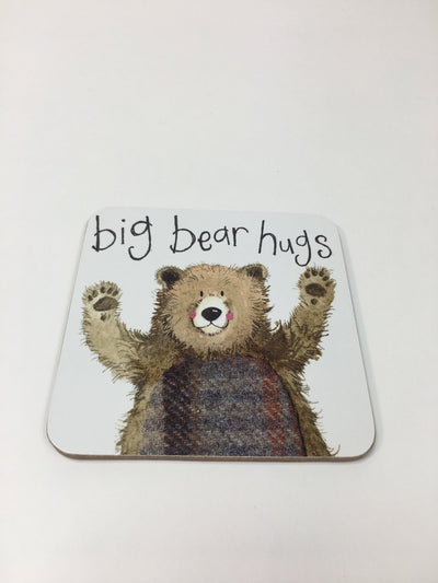 Big Bear Hugs Coaster