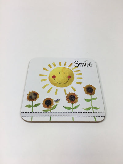 Smile Sunshine Coaster