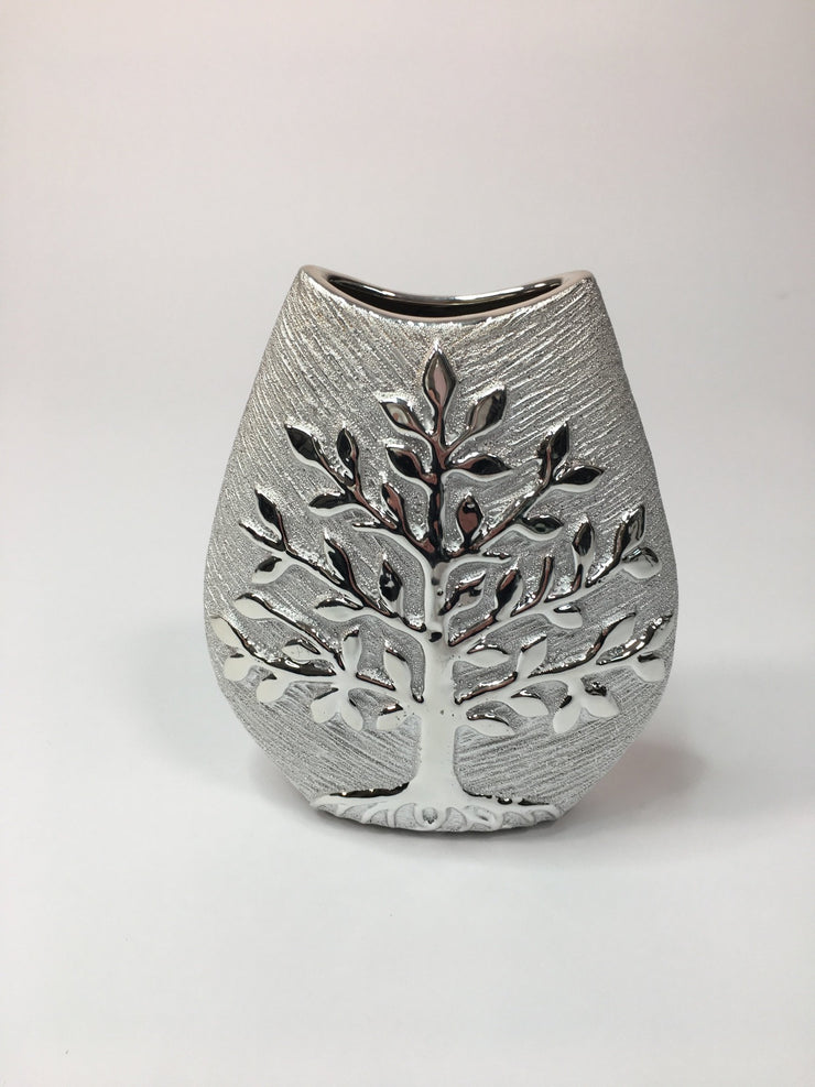Small Tree of Life Wide Vase