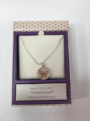 Friends Forever Butterfly Necklace