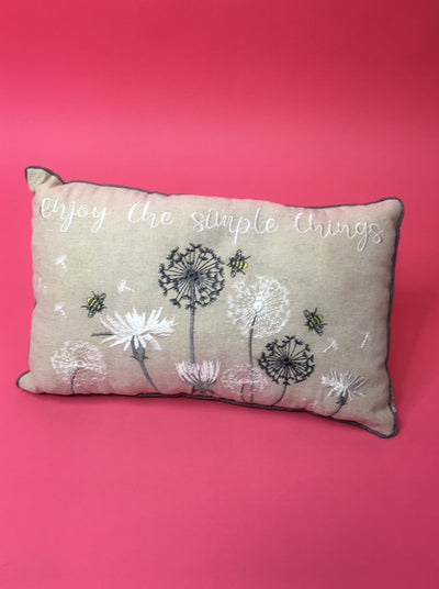 Simple things cushion