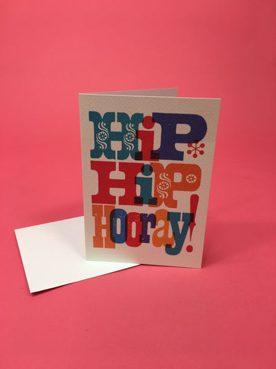 Hip Hip Hooray! Card