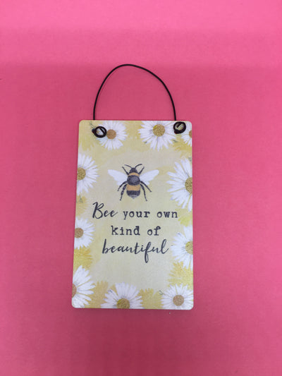 Own kind of beautiful motto tag