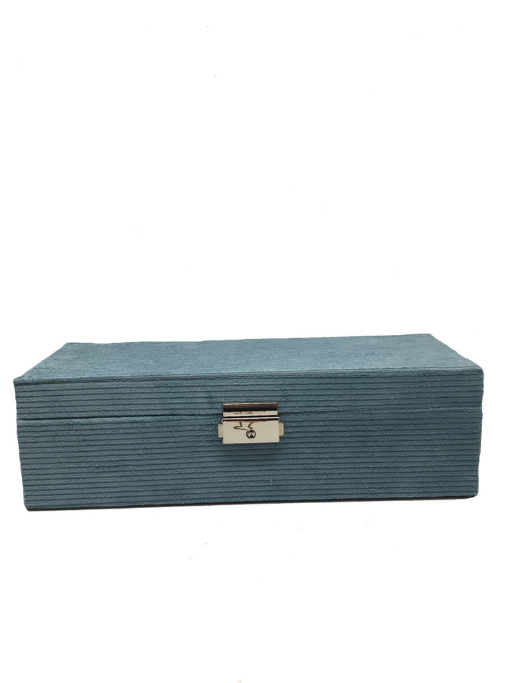Cord rectangle jewellery box