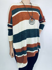 Saloos Brushed Stripe Tunic