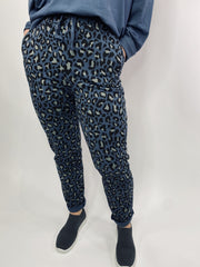 MITZY Animal Print Jogger Bottom