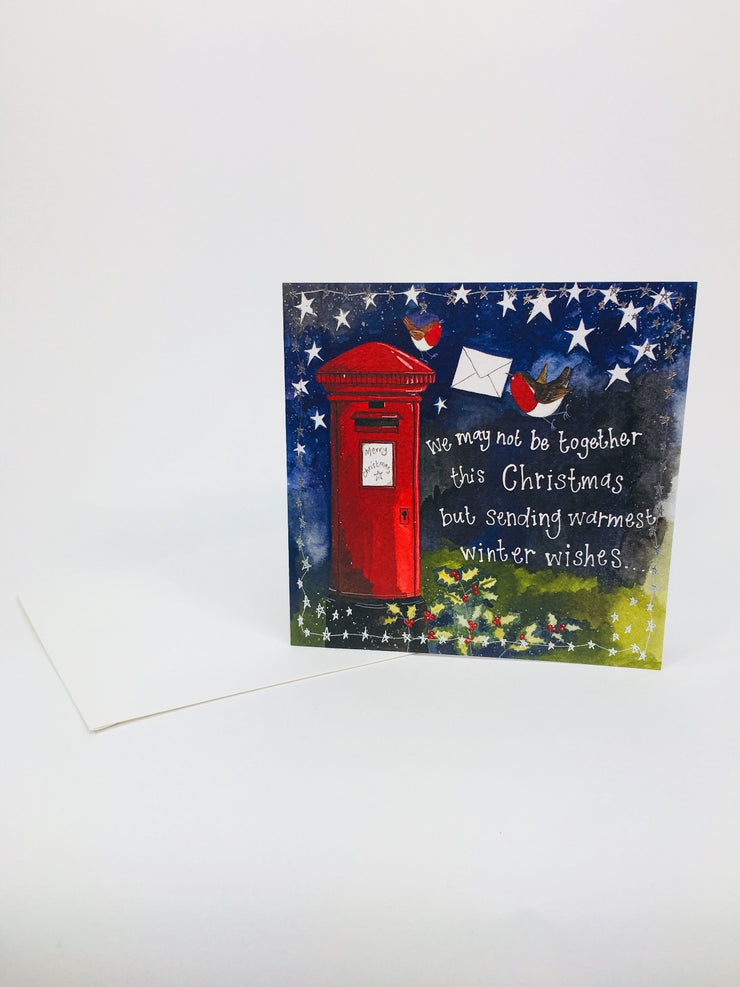 Alex Clark Christmas Post Box Card