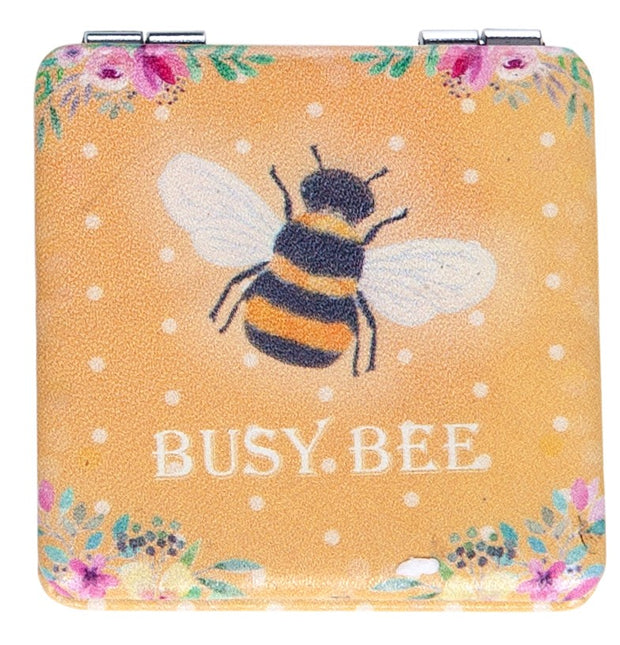 Bee Happy Compact Mirror