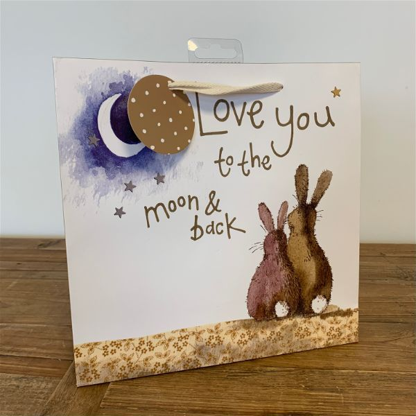 Alex Clark Love You To The Moon Gift Bag