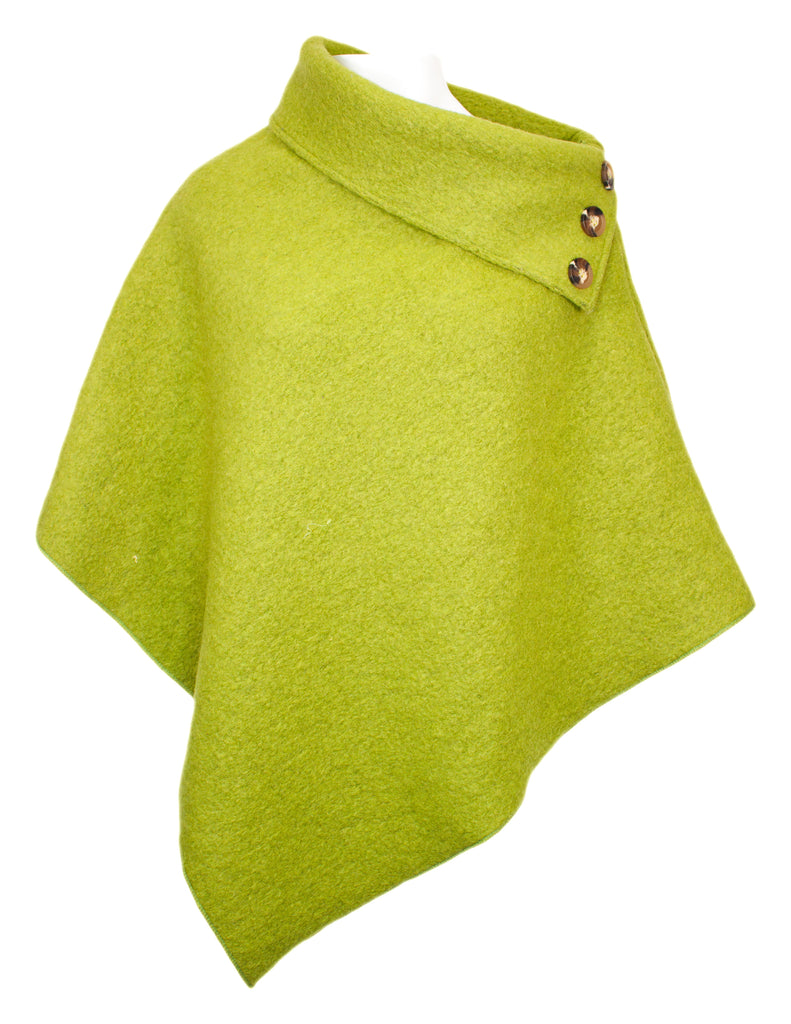 MITZY Button Detail Cape