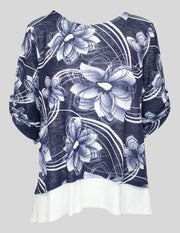 Saloos Layered Floral Top