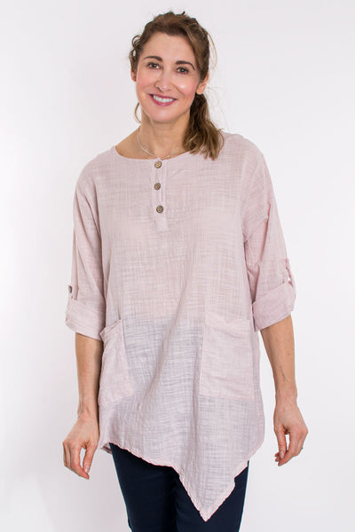 Pocket front tunic