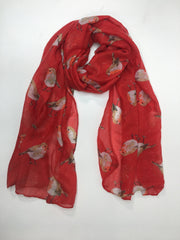 MITZY Scattered Glitter Robin Scarf