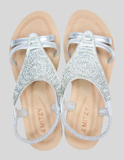 Diamante occasion sandal
