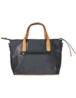 Block Contrast Small Tote Bag