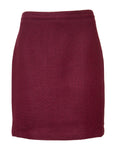 A-line Skirt In Textured Fabric