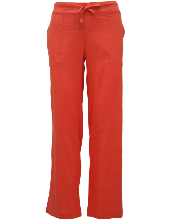 Full Length Linen Trousers