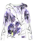 Long Sleeve Watercolour Flower Jumper