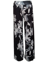 Pleated Trouser In Flroal Print