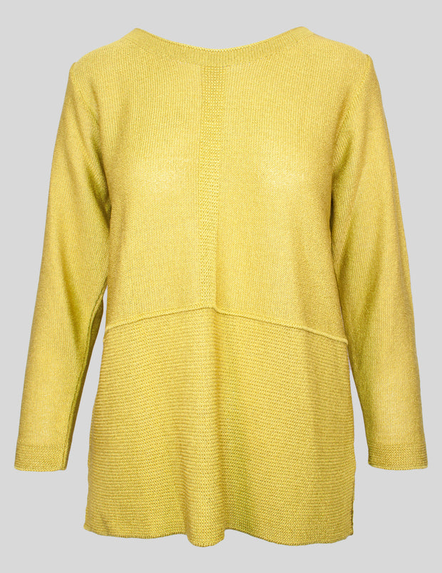 MITZY Filigree Panel Hem Jumper