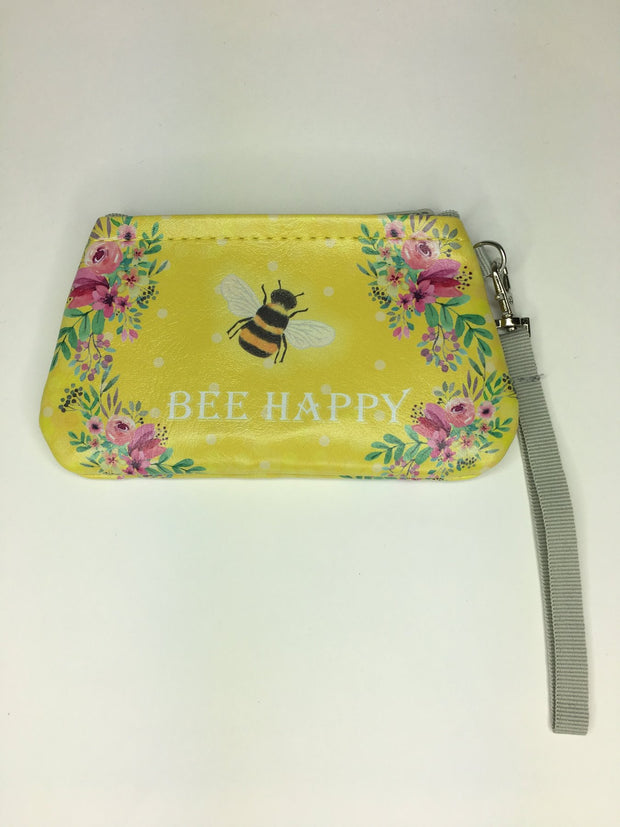 Bee Happy Accessory Purse