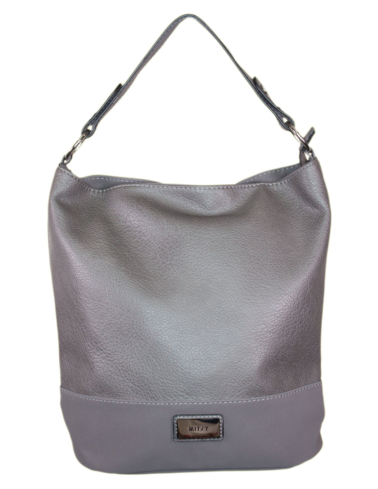 MITZY Two Tone Bucket Bag