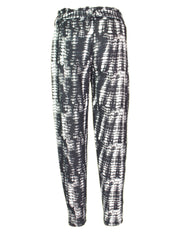 Abstract Print Brushed Trouser