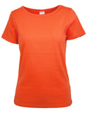 MITZY Basic T-shirt With Short Sleeves