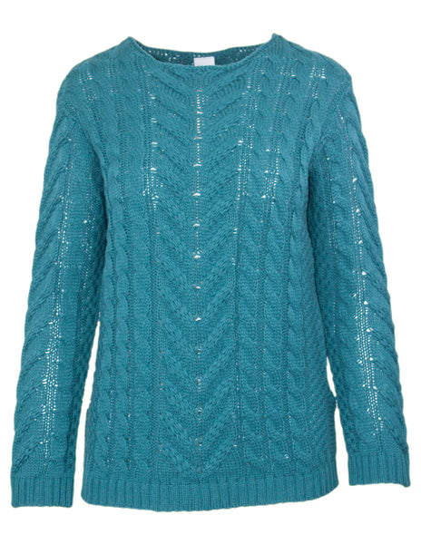 Long Sleeve Cable Jumper