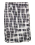 MITZY Check A-line Skirt