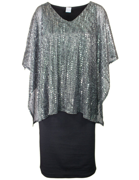 Layered Sparkle Dress
