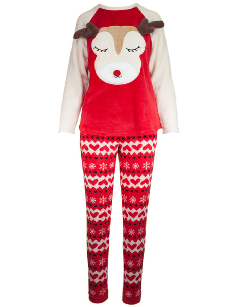 Novelty Reindeer Pyjama Set