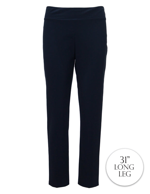 Tapered Trousers With Comfort Fit Waist
