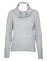 Long Sleeve Cowl Neck Jumper