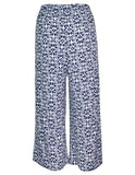 MITZY Tile Print Cropped Trousers