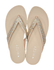 MITZY Diamante Toe Post Sandals
