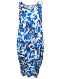 MITZY Abstract Floral Pocket Dress