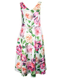 MITZY Large Floral Occasion Dress