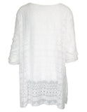MITZY Textured Lace Tunic