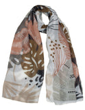 MITZY Pastel Jungle Scarf