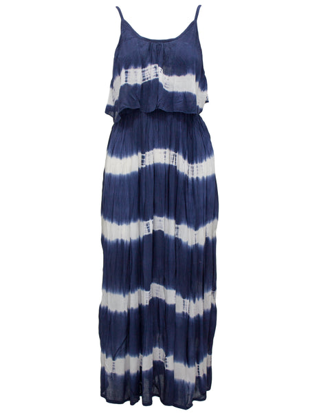 Midi Tie Dye Layered Sundress