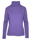 Basic Long Sleeve Polo Neck T-Shirt