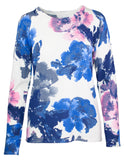 Large Rose Print Jumper