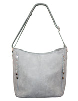 Stud Detail Zip Front Bag